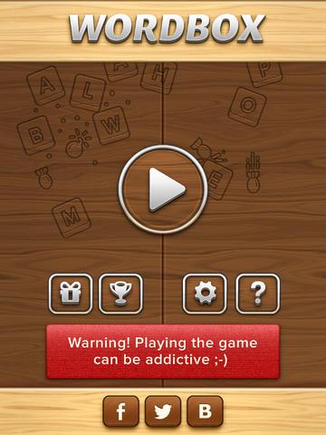 WordBox - Word puzzle game ! screenshot 6