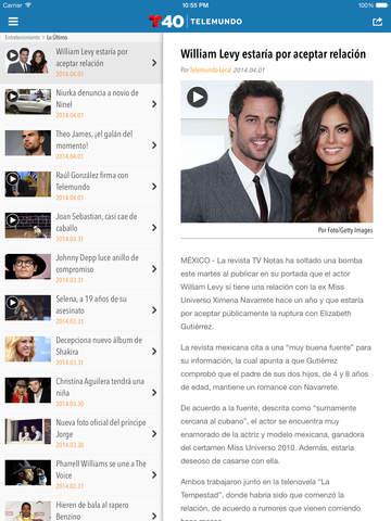 Telemundo 40 screenshot 10