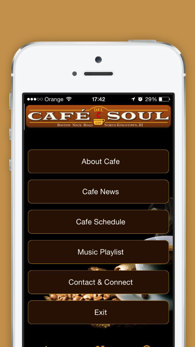 Cafe del Soul - Coffee house-style screenshot 3