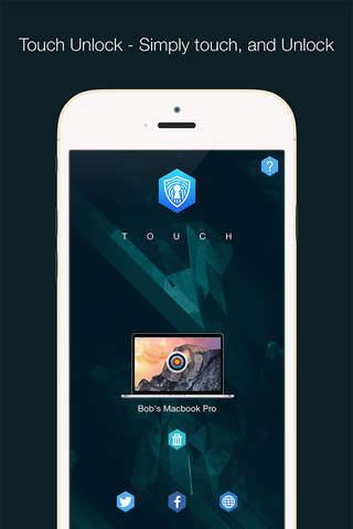 Touch Unlock for iOS - náhled