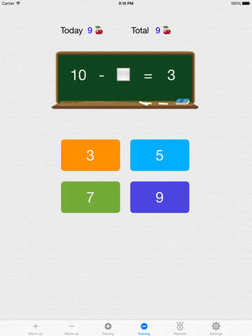 Make 10,100,1000(Complementary Number Training) screenshot 7