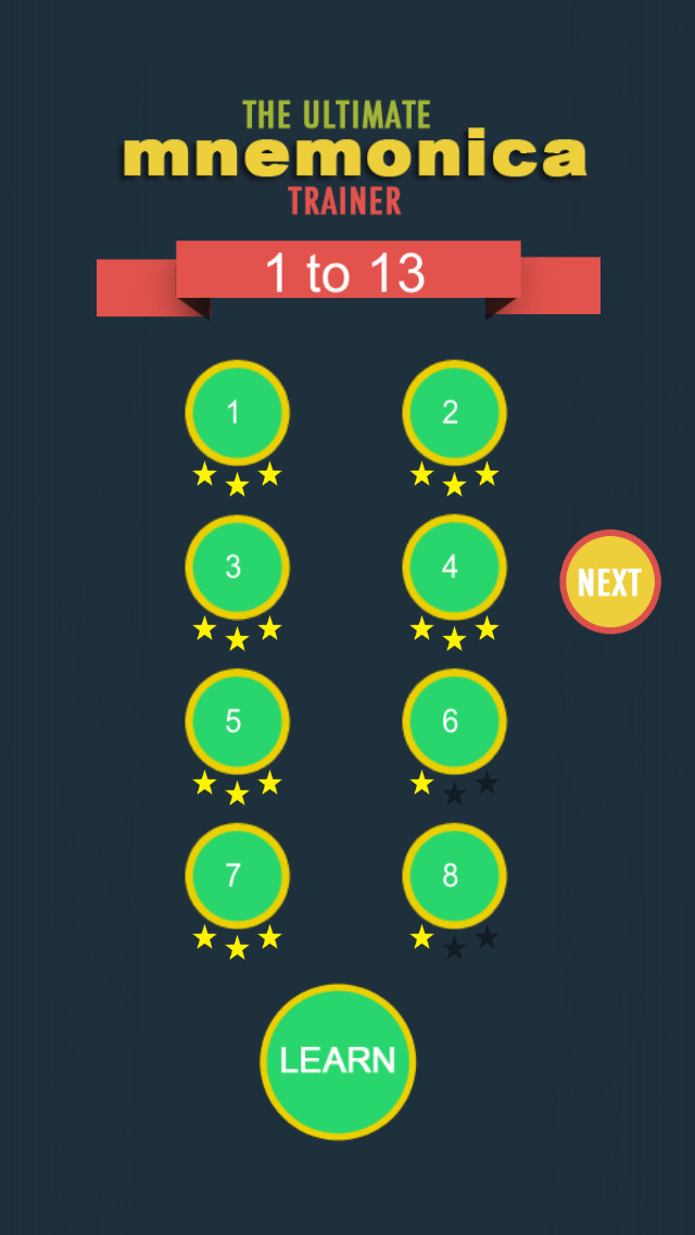 Learn Mnemonica screenshot 2