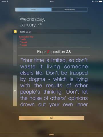 Note Widget screenshot 7