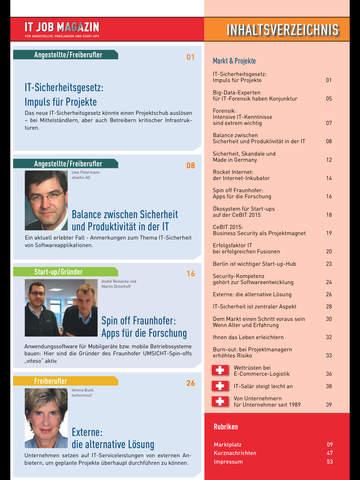 IT Job Magazin screenshot 7