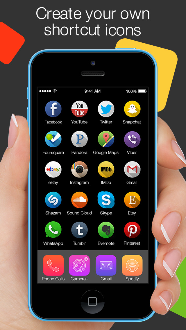 App Icons Free – Cool Icon Themes, Backgrounds & Wallpapers screenshot 1