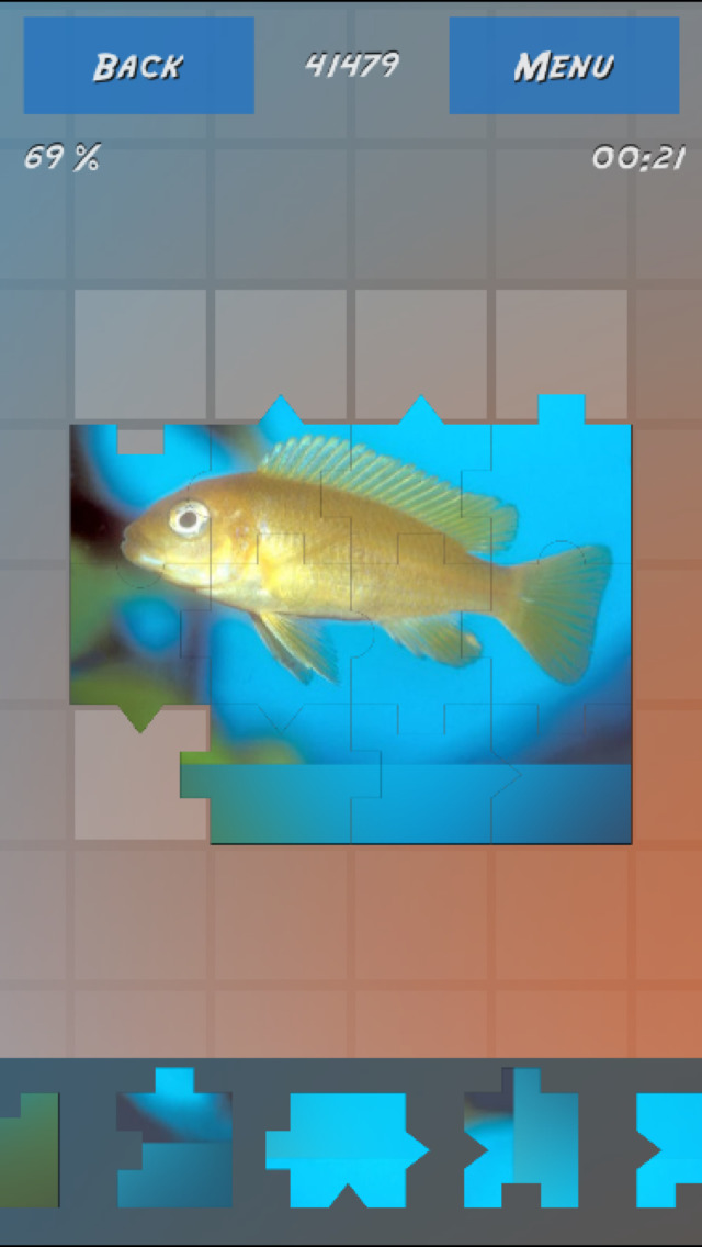 Puzzles Fishes screenshot 5