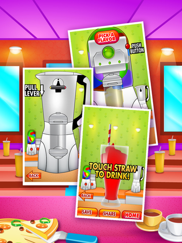 Awesome Flavored Soda Jelly Dessert Restaurant screenshot 4