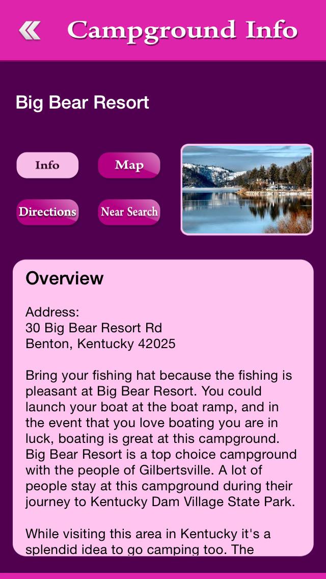 Kentucky Campgrounds Guide screenshot 3