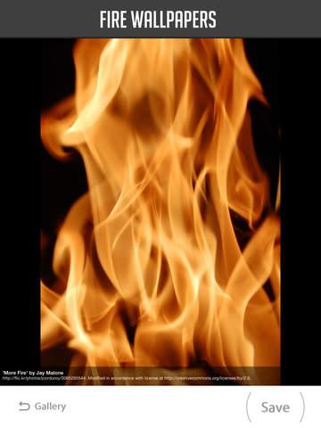 Fire Wallpaper screenshot 9