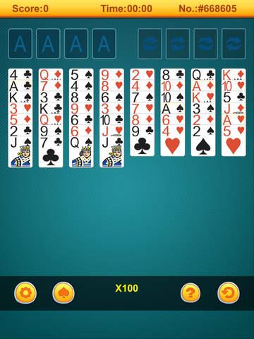 123 # Freecell screenshot 6