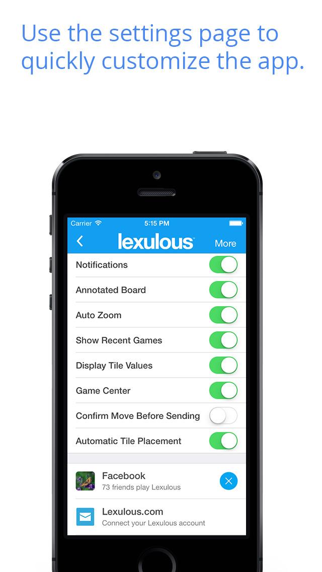 Lexulous Word Game screenshot 5