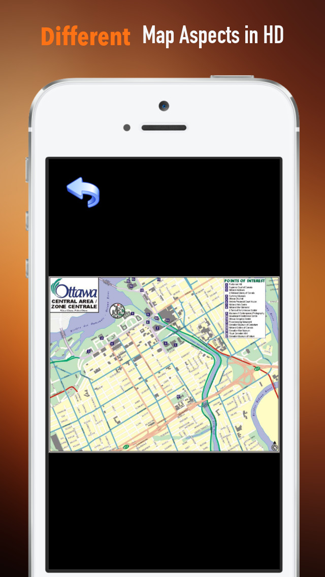 Ottawa Tour Guide: Best Offline Maps with Street View and Emergency Help Info screenshot 3