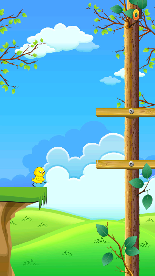 Baby Chicken Forest Run screenshot 2