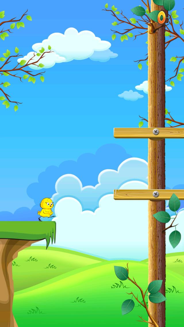 Baby Chicken Forest Run screenshot 2