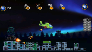A1 Helicopter Monster Rampage Pro - cool airplane shooting mission game screenshot 2