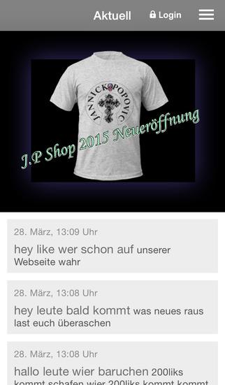 J.P-Shop screenshot 1