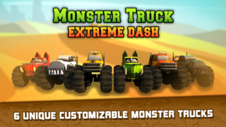 Monster Truck Extreme Dash screenshot 1