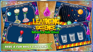 Learning Science Games For Kids School screenshot 1