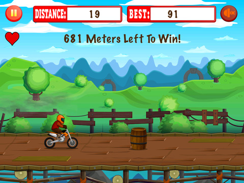 Frontier Bike Run screenshot 2