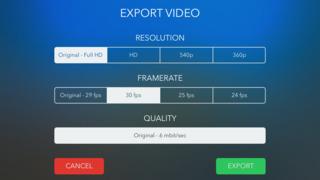 VideoGrade screenshot 4