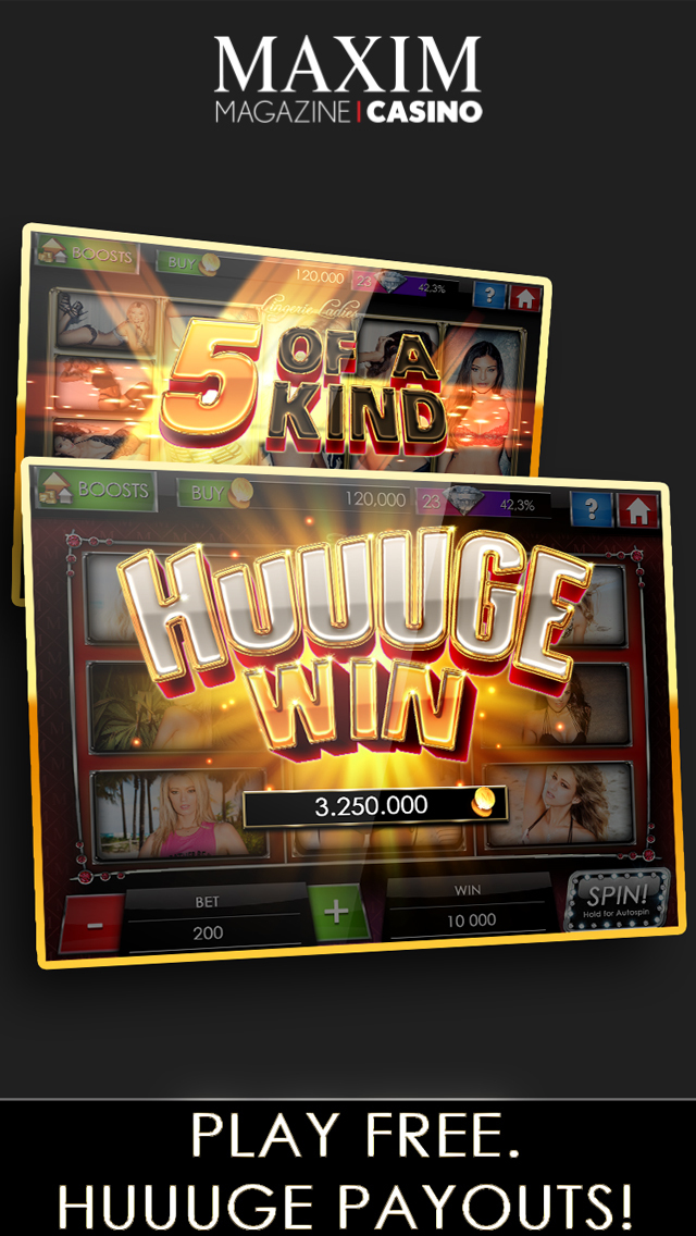 Maxim Casino Slots & Poker screenshot 2