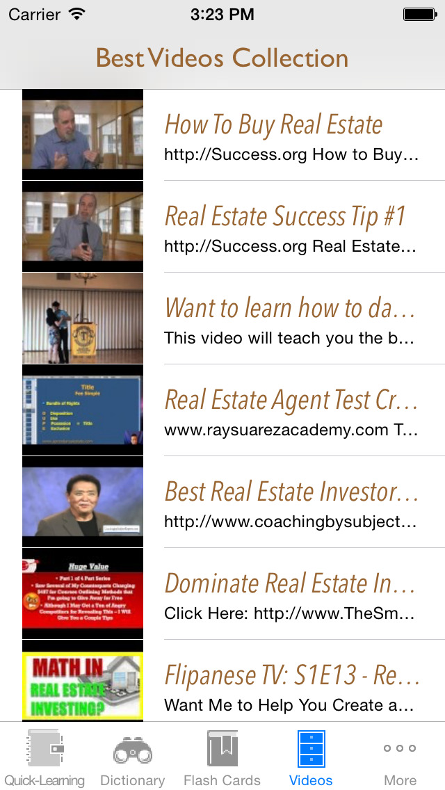 Real Estate & Buildings Quick Study Reference: Best Dictionary with Video Lessons and Learning Cheat Sheets screenshot 5