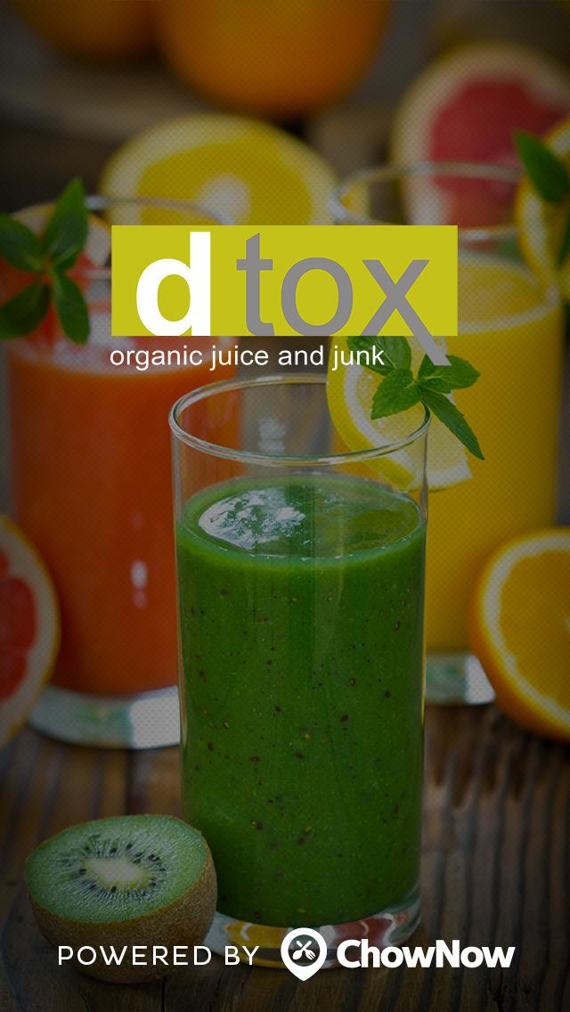 DTOX Juice screenshot 1