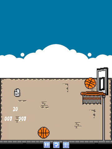 Retro Basketball Free screenshot 10