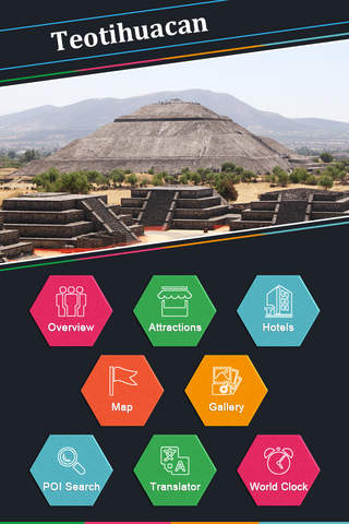 Teotihuacan - náhled