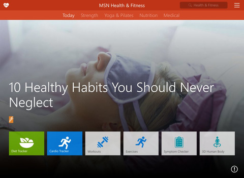 MSN Health & Fitness screenshot 6