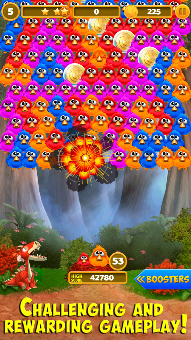 Bubble Birds 4: Match 3 Puzzle Shooter Game screenshot 2