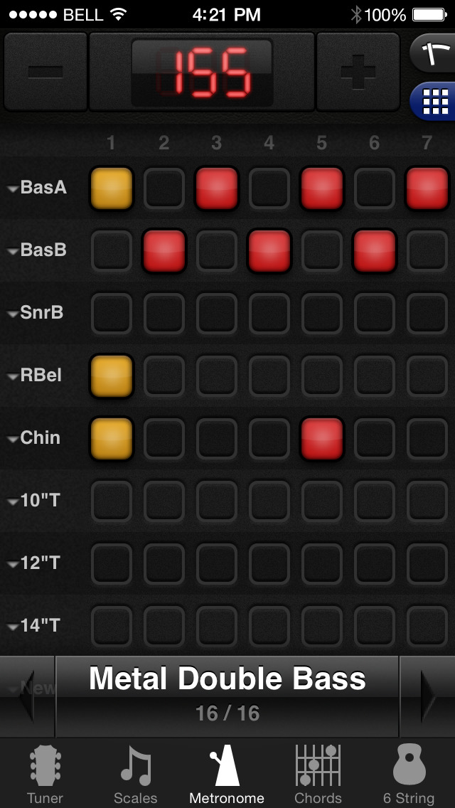 GuitarToolkit - tuner, metronome, chords & scales screenshot 4