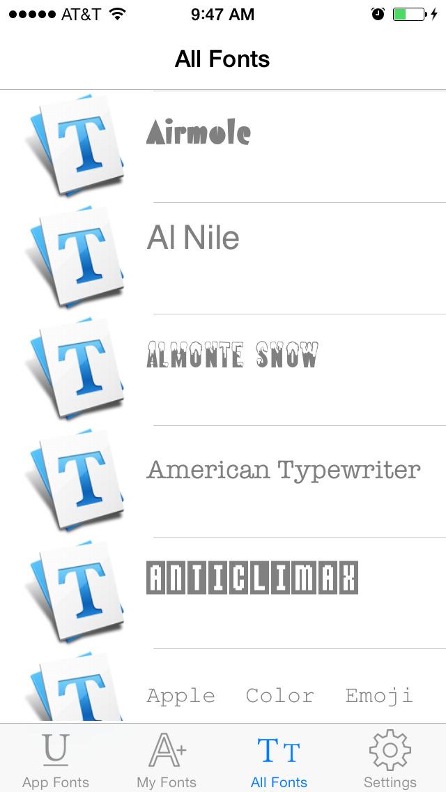 InstaFont - Install Any New Fonts screenshot 4