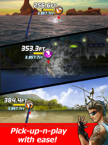 Ace Fishing: Wild Catch screenshot 10