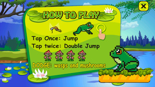 Froggy Jump Run - Free Frog Game screenshot 3