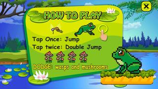 Froggy Jump Run - Free Frog Game screenshot 3