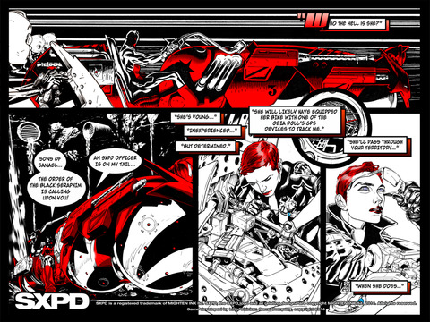SXPD: Extreme Pursuit Force. The Comic Book Game Hybrid screenshot 7