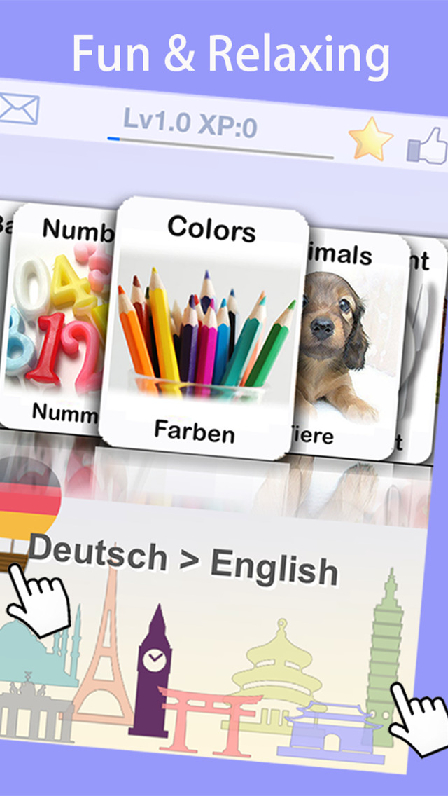 LingoCards 50 Language & Latin screenshot 2