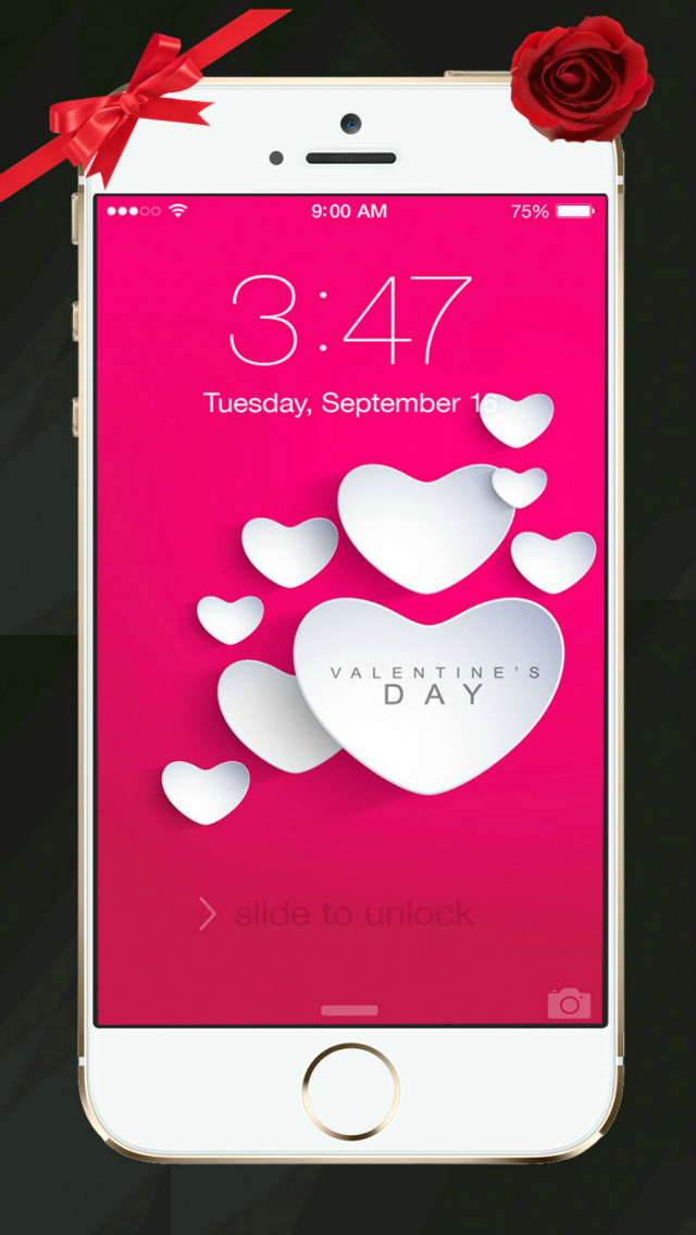 Beautiful Valentine's Day - Cool HD Themes and Backgrounds screenshot 3