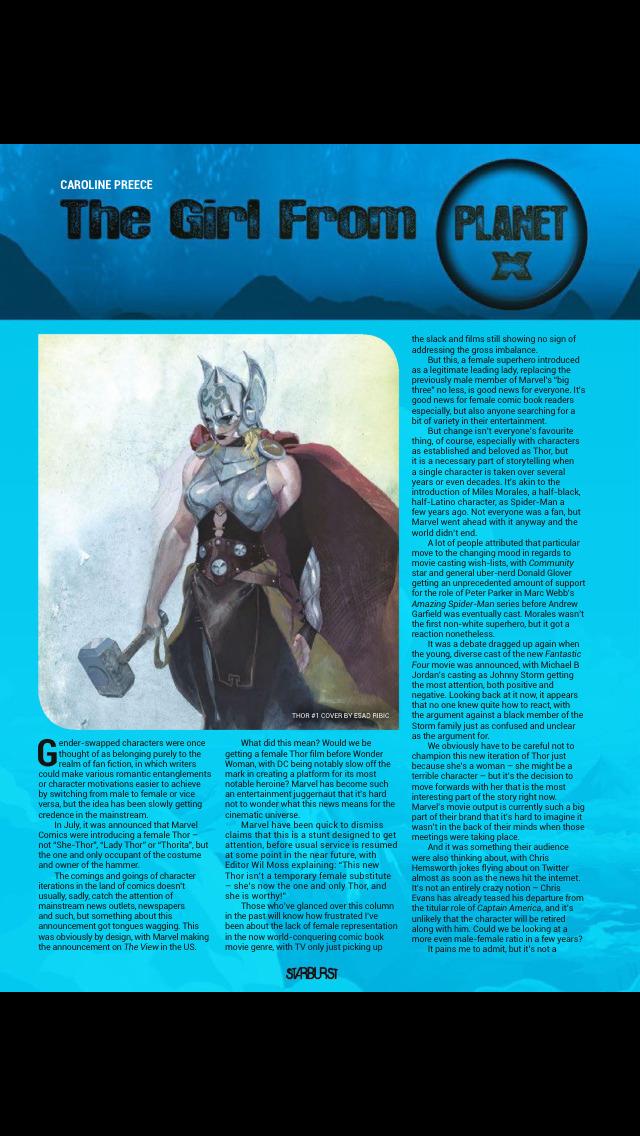 Starburst (Magazine) screenshot 4