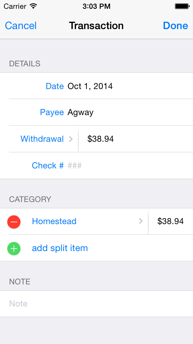 Banktivity for iPhone - Personal Finance screenshot 4
