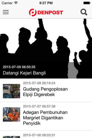 Denpost for iOS - náhled