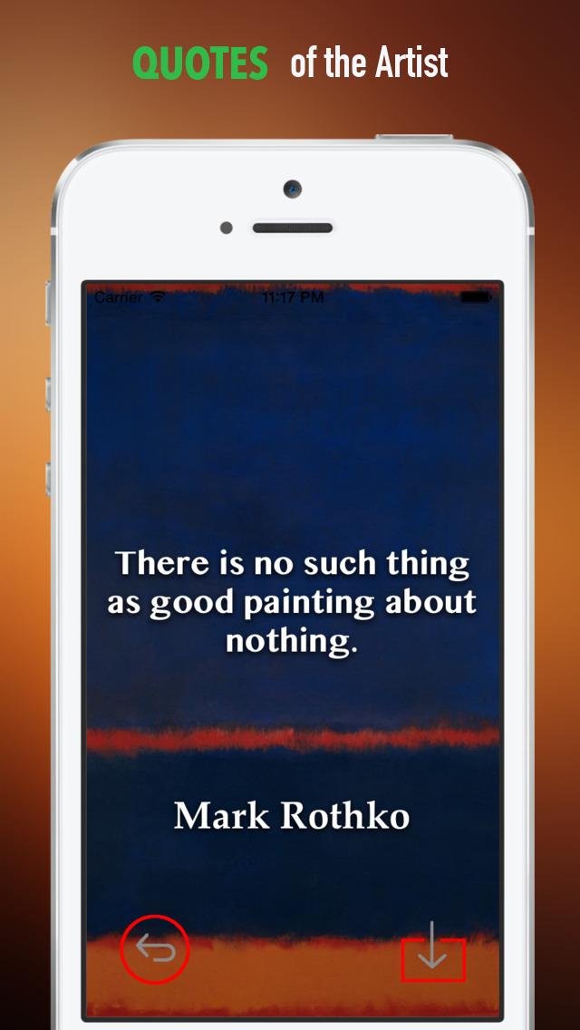 Mark Rothko Paintings HD Wallpaper and His Inspirational Quotes Backgrounds Creator screenshot 4