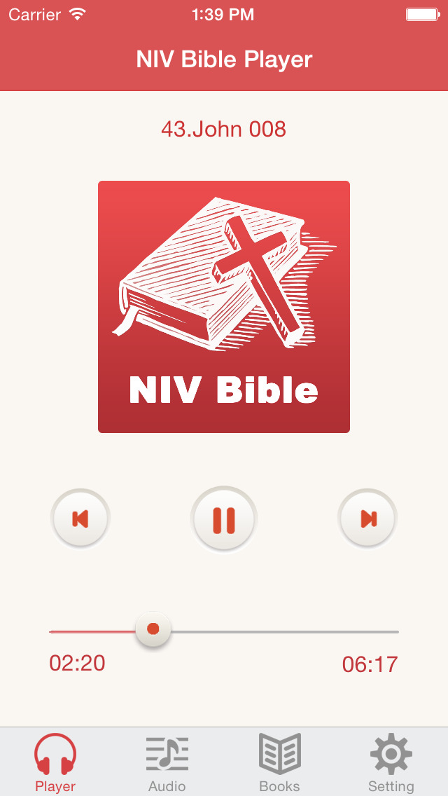 NIV Bible (Audio & Book) screenshot 1