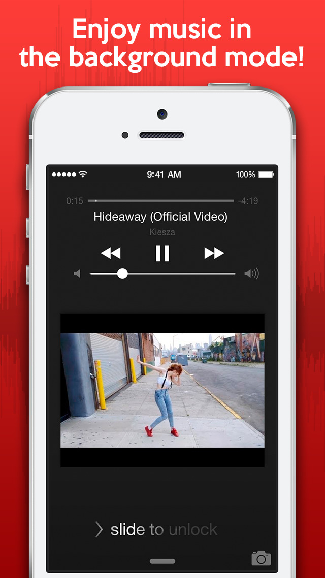 Watch & Listen - Best media player for YouTube music, videos, and clips screenshot 1