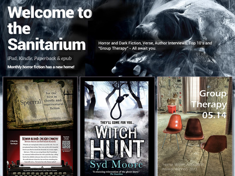 Sanitarium Magazine: Horror Fiction, Dark verse and Macabre Entertainment screenshot 10