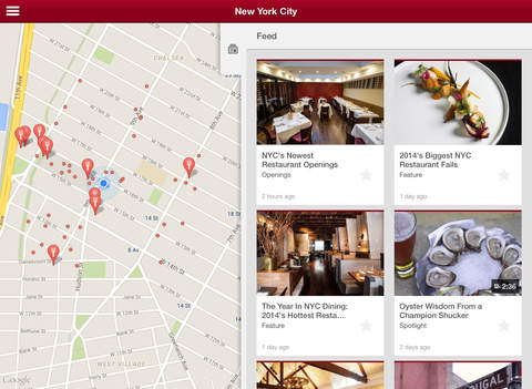Zagat - Restaurant Ratings & Reviews screenshot #1