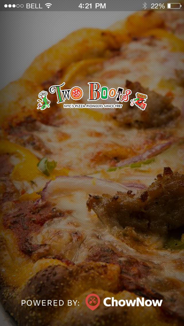 Two Boots Pizza screenshot 1