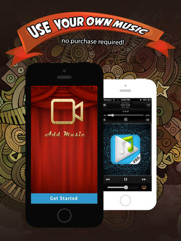 Add Music & Video Editor FREE - Enter Video-Shop screenshot 7