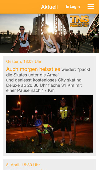 TNS Frankfurt screenshot 1